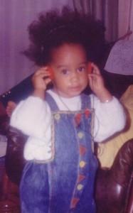 Mon premier Afro _ Aurélie